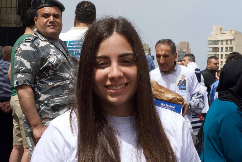 Dana Traboulsi, 24, from Beirut. May 6, 2018.