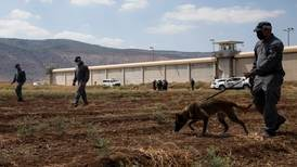 Six Palestinians escape from high-security Israeli prison