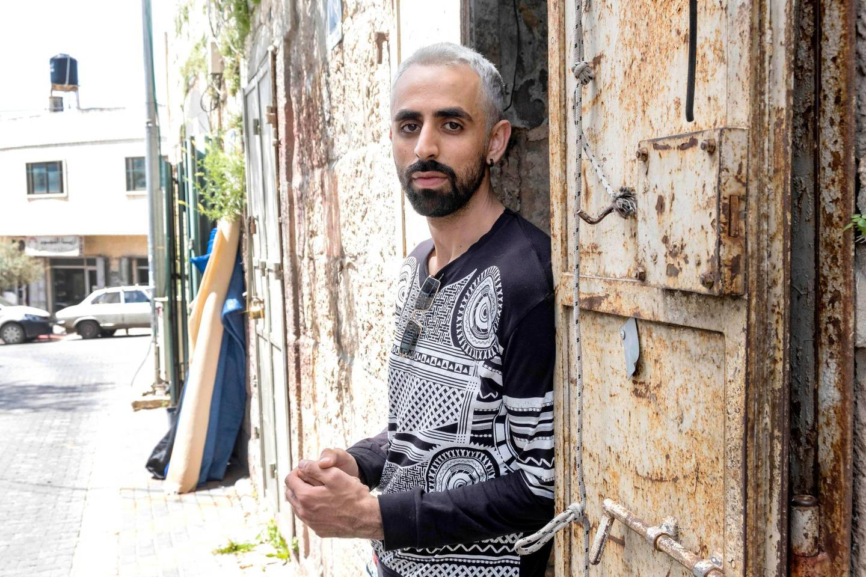 Bashar Musrad in Ramallah, West Bank, Palestine on 7 April 2019. Photo by David Corio