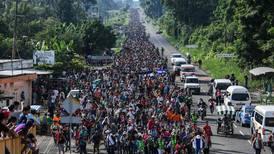 Honduran migrant 'caravan' resumes march from Mexico to US