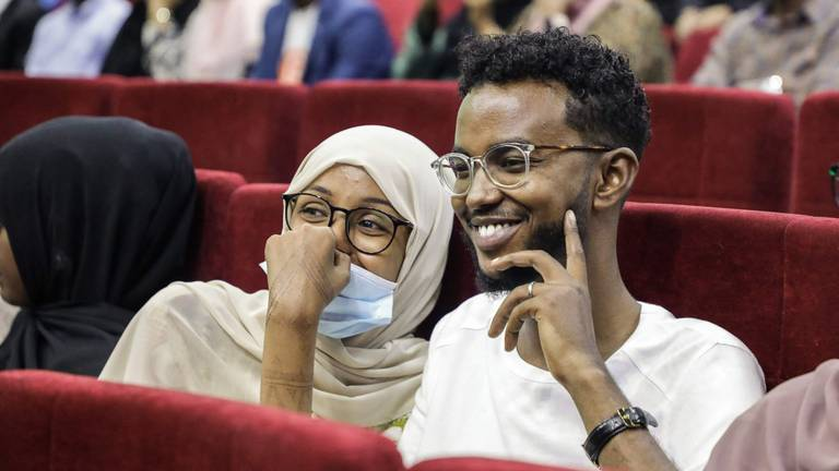 An image that illustrates this article Somalia hosts historic film screening for the first time in 30 years