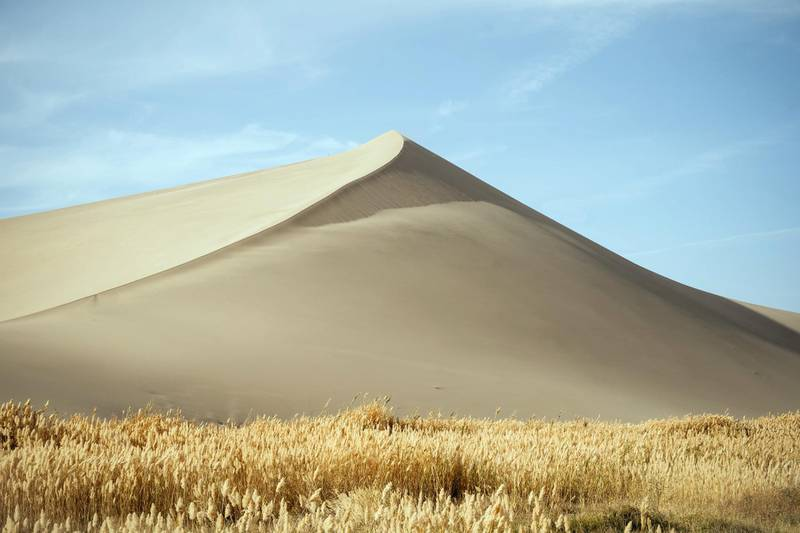 The Gobi Desert at Dunhuang, Central China. Photo: Christopher Wilton-Steer and The Aga Khan Development Network