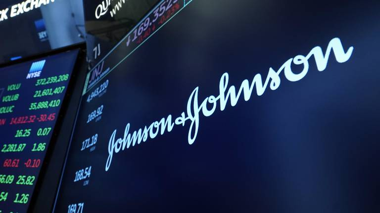 An image that illustrates this article Johnson & Johnson's net profit up 3.2% on strong pharmaceuticals business