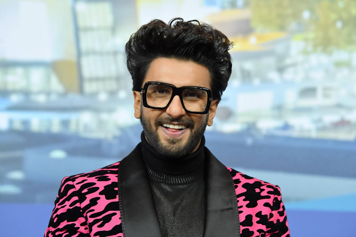 """BERLIN, GERMANY - FEBRUARY 09: Ranveer Singh attends the """"Gully Boy"""" press conference during the 69th Berlinale International Film Festival Berlin at Grand Hyatt Hotel on February 09, 2019 in Berlin, Germany. (Photo by Pascal Le Segretain/Getty Images)"""