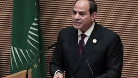 Egyptian President Abdel Fattah El Sisi calls for African anti-terrorism force