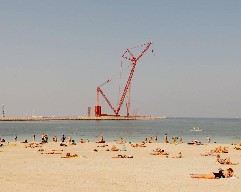A beach in Dubai. Courtesy Alex Atack