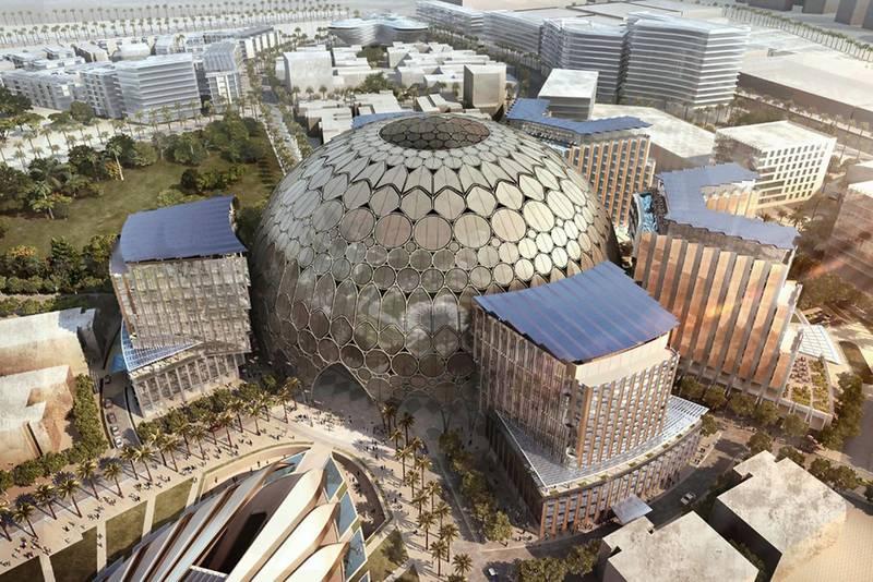 Renders - Courtsey: Dubai Expo 2020.