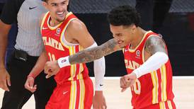 Trae Young inspires Hawks to play-off berth with dramatic win against Wizards