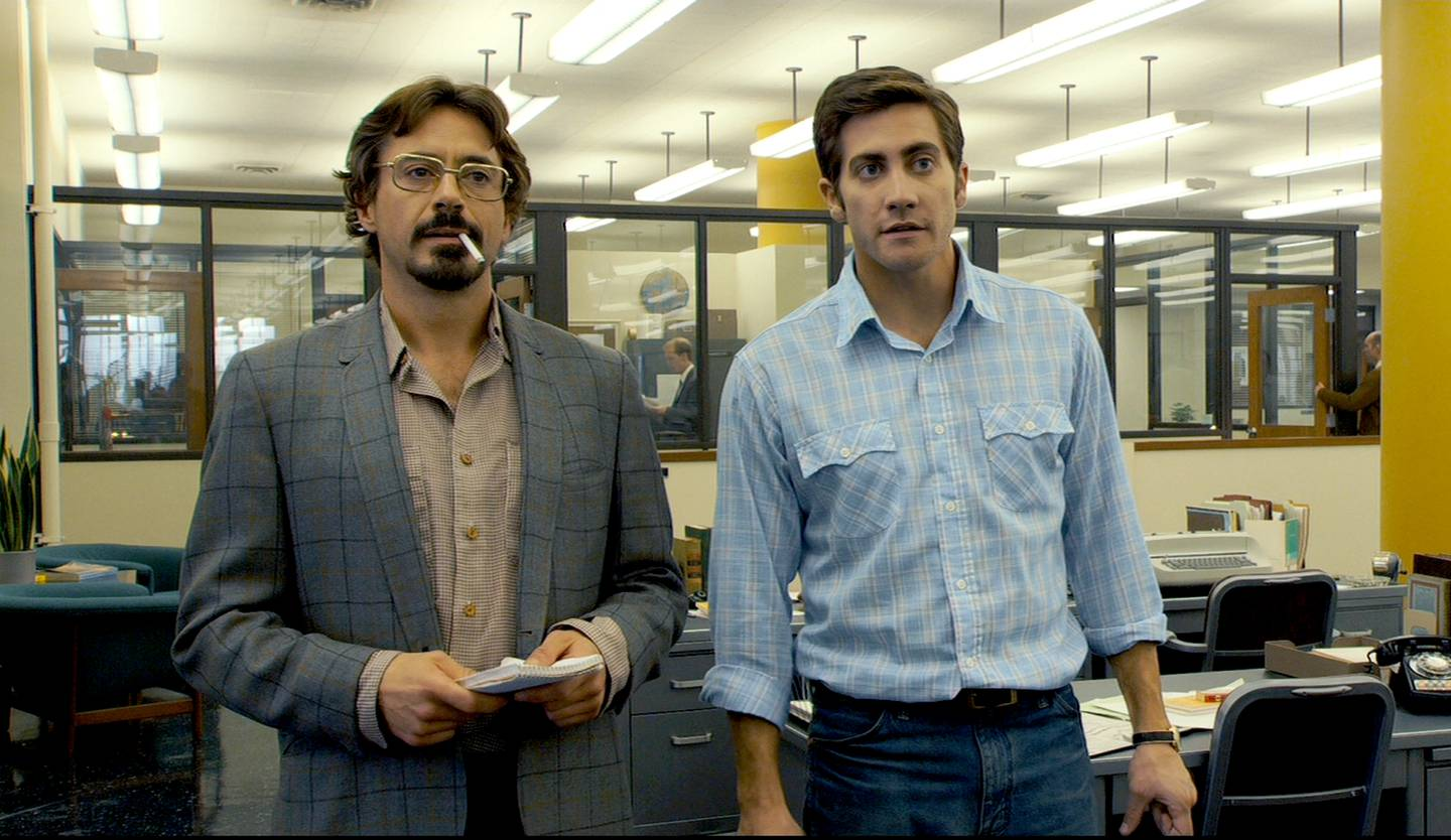 Robert Downey Jr., and Jake Gyllenhaal in ZodiacCREDIT: Paramount Pictures