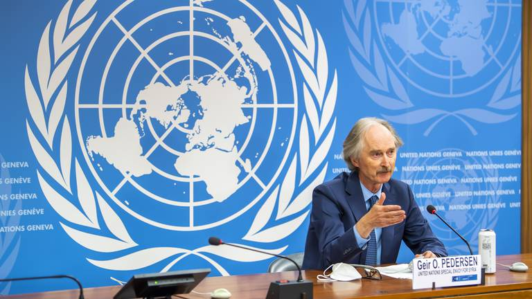 An image that illustrates this article Syria reform talks a 'big disappointment', says UN envoy
