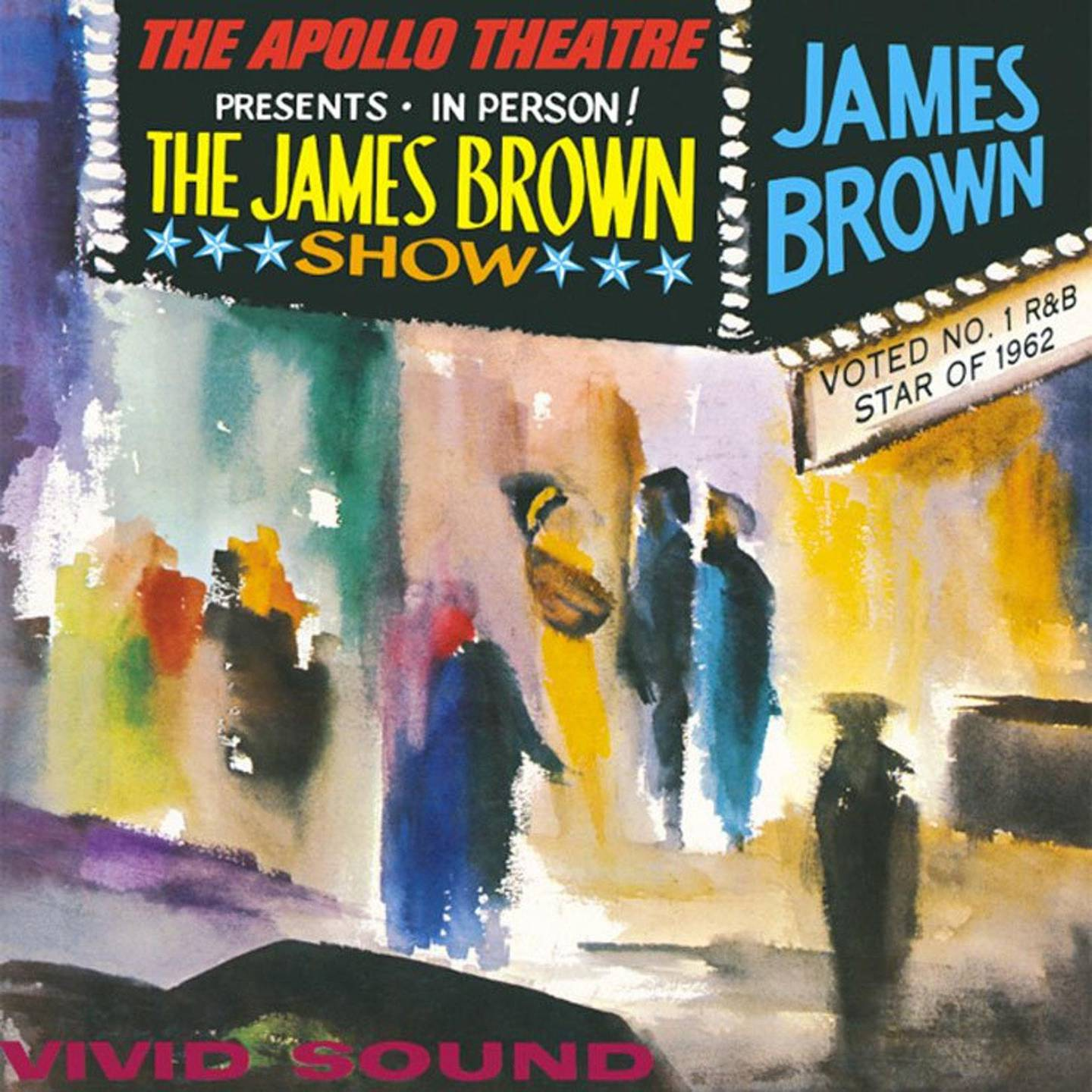 Live at the Apollo by James Brown. Courtesy King Records