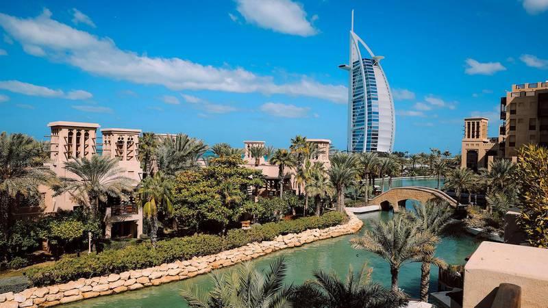 Arabian splendour with Burj Al Arab. Courtesy Dubai Tourism