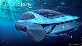 Ultra-futuristic concept car unveiled at Expo 2020 Dubai