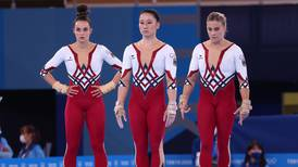German women's gymnastics team wear full-body suits at Olympics to promote choice