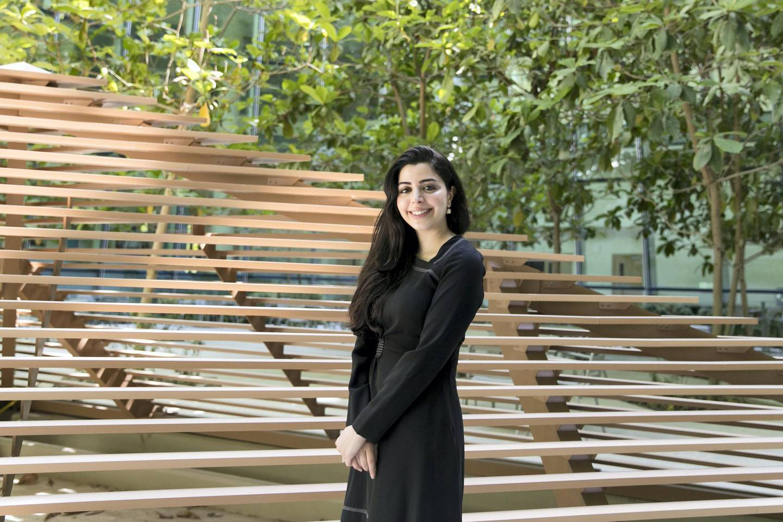 ABU DHABI, UNITED ARAB EMIRATES - MARCH 27, 2018. Rana Al Mutawa, Emirati instructor and researcher.(Photo by Reem Mohammed/The National)Reporter: Shireenah Al NuwaisSection: NA