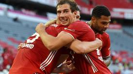 Bayern Munich on brink of eighth straight Bundesliga title after Leon Goretzka strikes late winner