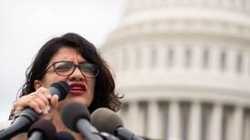 Rashida Tlaib: unconditional US support for Israel emboldens 'apartheid policies'