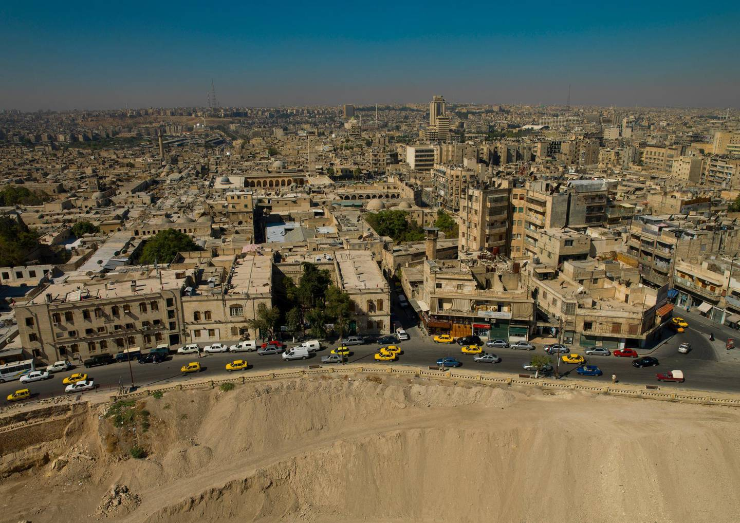 October 5, 2006. High Angle View From Citadel, Aleppo, Aleppo Governorate, Syria. Reuters