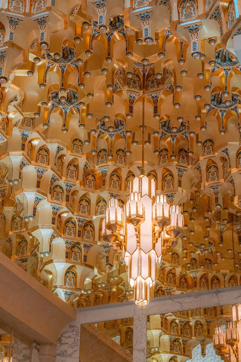 The architectural marvel of the Great Hall - Qasr Al Watan. Photo: Qasr Al Watan