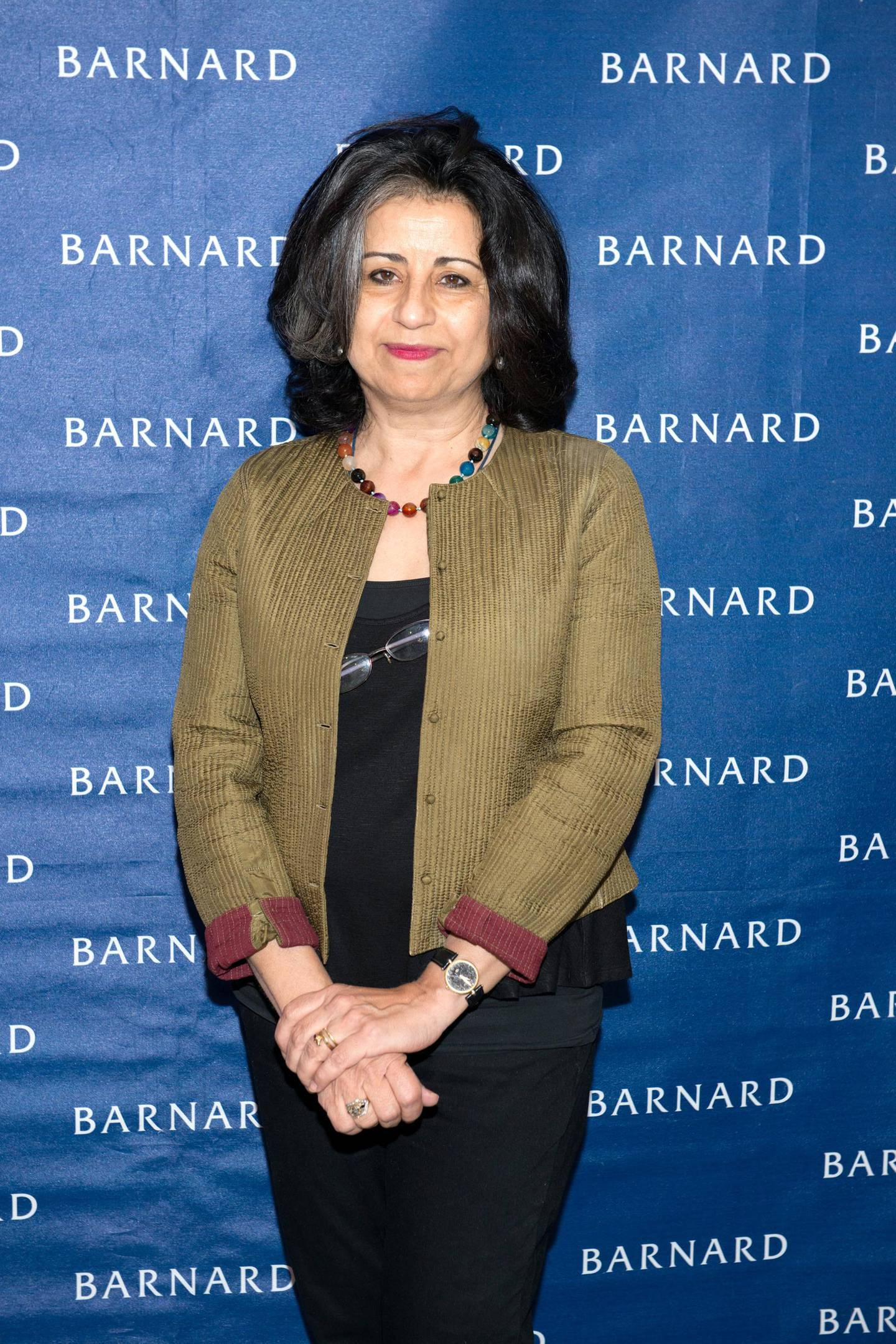 NEW YORK, NY - MARCH 13:  Journalist Ahdaf Soueif attends Barnard College's 7th Annual Global Symposium at Barnard College on March 13, 2015 in New York City.  (Photo by Noam Galai/WireImage)