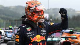 Max Verstappen claims pole for Belgian Grand Prix as Lewis Hamilton qualifies third