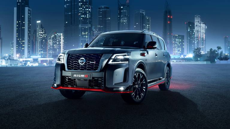 An image that illustrates this article Road test: 2021 Nissan Patrol Nismo lives up to the hype