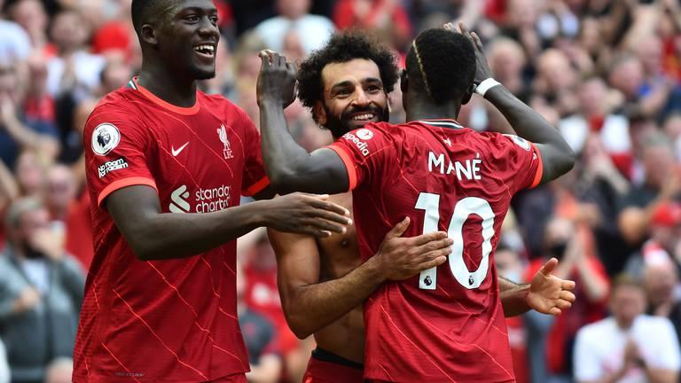 An image that illustrates this article Liverpool v Crystal Palace player ratings: Salah 8, Mane 7; Zaha 6