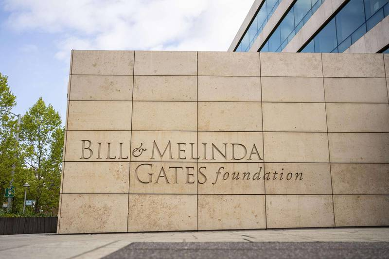 SEATTLE, WA - MAY 04: The exterior of the Bill and Melinda Gates Foundation is seen on May 4, 2021 in Seattle, Washington. Bill Gates and Melinda Gates announced their divorce yesterday, raising questions about the future of their foundation.   David Ryder/Getty Images/AFP == FOR NEWSPAPERS, INTERNET, TELCOS & TELEVISION USE ONLY ==