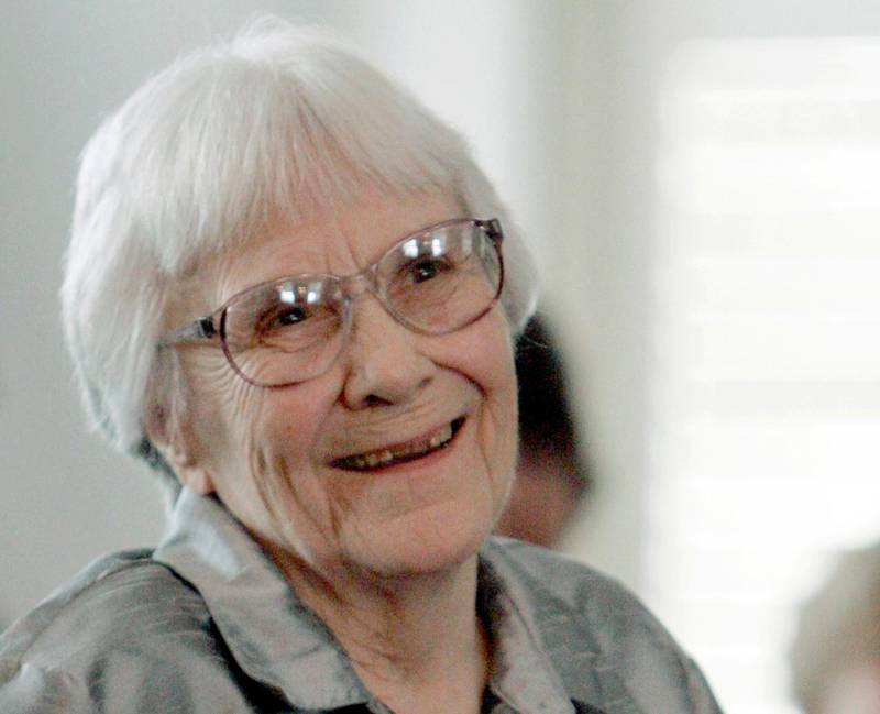 """FILE - In this Aug. 20, 2007 file photo, author Harper Lee smiles during a ceremony honoring the four new members of the Alabama Academy of Honor at the Capitol in Montgomery, Ala.  The will of """"To Kill a Mockingbird"""" author has been made public following a lawsuit by The New York Times, but details on her estate remain a secret. The will unsealed Tuesday, Feb. 27, 2018,  shows most of Lee's assets were transferred into a trust days before her death two years ago in her hometown of Monroeville, Ala.  But the contents of her estate remain private because trust documents are private. (AP Photo/Rob Carr, File)"""