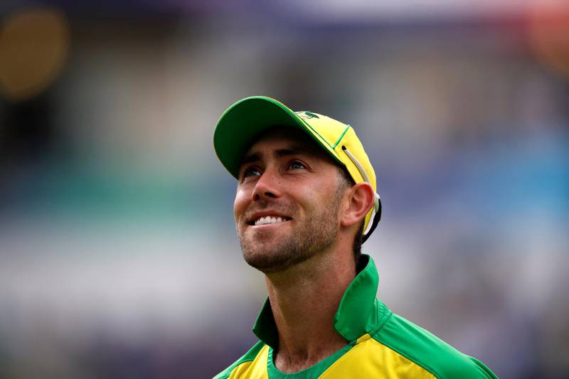 FILE PHOTO: FILE PHOTO: File picture of Australia's Glenn Maxwell at the ICC Cricket World Cup Semi Final v England at Edgbaston, Birmingham, Britain on July 11, 2019     Action Images via Reuters/Andrew Boyers/File Photo/File Photo