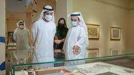 Works of Emirati calligraphy artist Mohammed Mandi on view in Sharjah