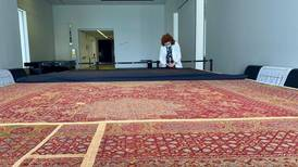 Louvre Abu Dhabi showcases live restoration of Mamluk dynasty carpet