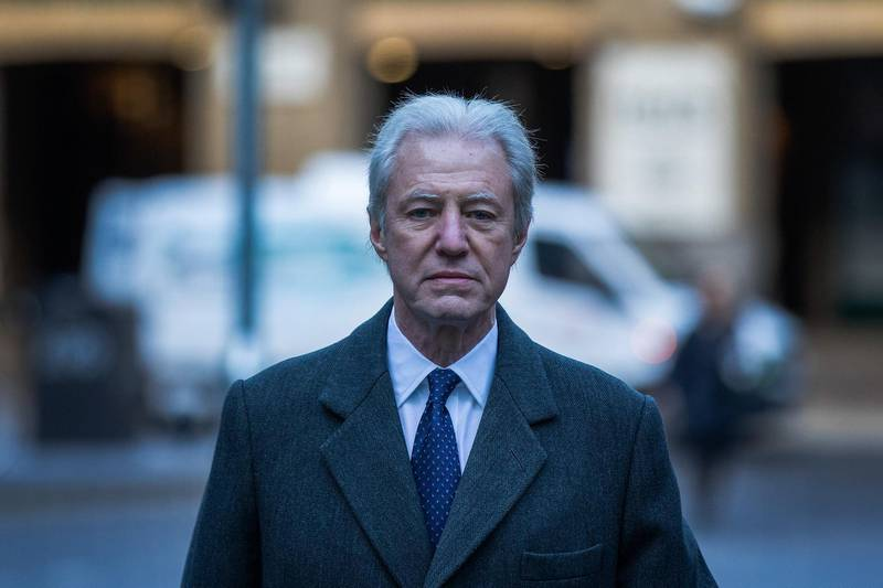 Marcus Agius, former chairman of Barclays Plc, arrives to give evidence in a trial at Southwark Crown Court in London, U.K., on Tuesday, Feb. 19, 2019. The first U.K. jury trial of senior bankers for alleged wrongdoing related to the financial crisis a decade ago is taking place in London, with the prosecution calling its first witness Tuesday. Photographer: Simon Dawson/Bloomberg