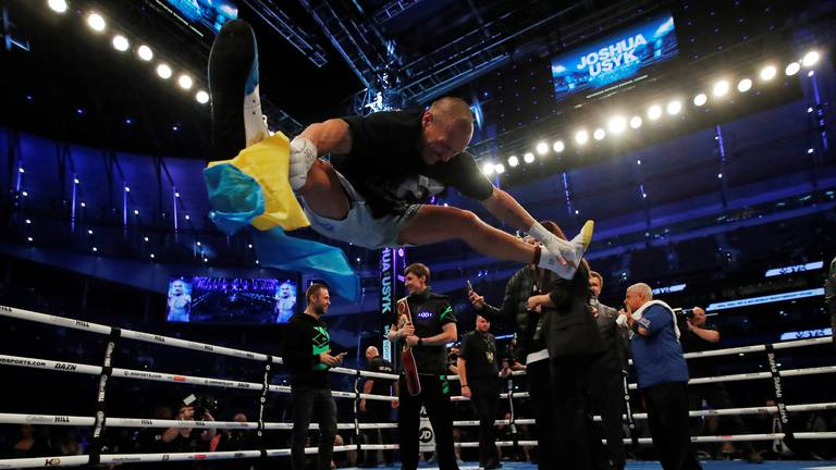 An image that illustrates this article Mbappe, Usyk, Joshua and Hamilton: 25 of the best sports images of the week