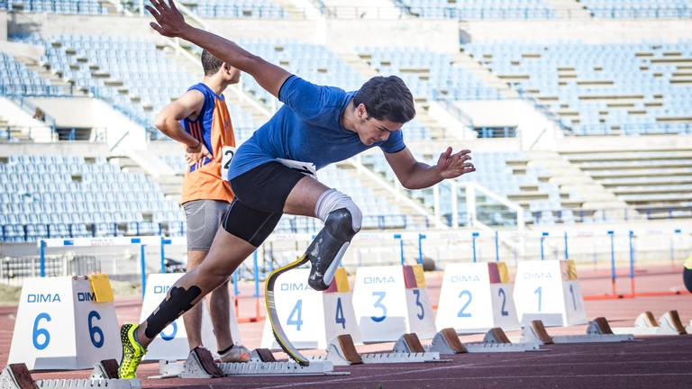 An image that illustrates this article Zahreddine aims to make Lebanon proud at Tokyo Paralympics