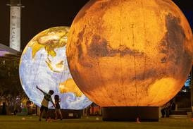 Interplanetary spectacle lights up Expo to celebrate Space Week
