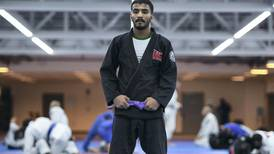 Hamad Nawad ready for jiu-jitsu return after making his mum proud with exam results