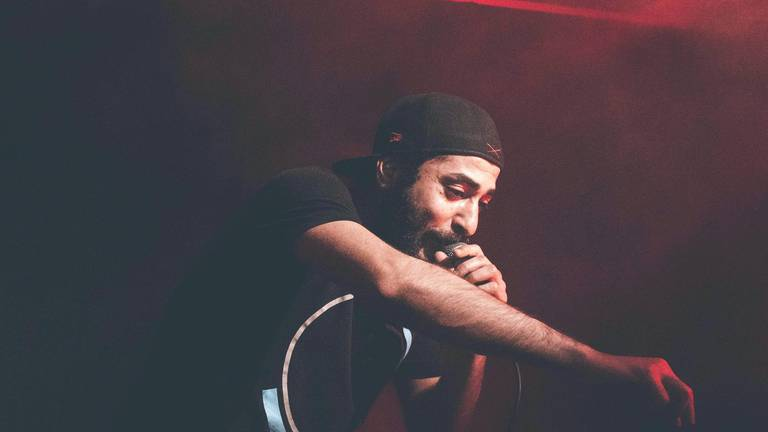 An image that illustrates this article Syrian refugee Ameen Khayer makes splash in Germany's music scene