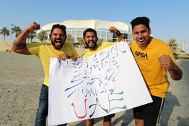 Fans pour in for IPL 2021 restart as Chennai take on Mumbai in Dubai - in pictures