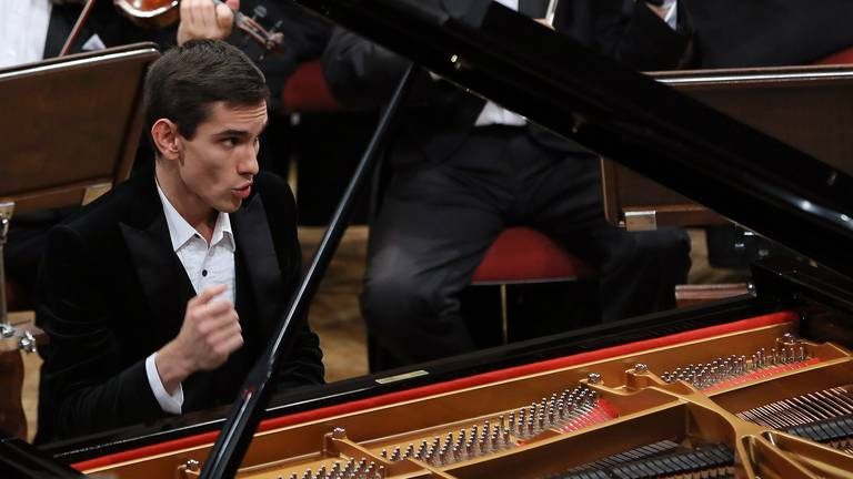 An image that illustrates this article Pianist Dmitry Shishkin on being a classical music star in the digital age