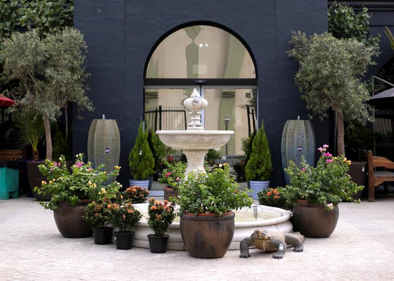 DUBAI, UNITED ARAB EMIRATES - JULY 22 2019.The newly opened Dubai Garden Center in Jumeira 1, opposite Town Center.(Photo by Reem Mohammed/The National)Reporter: Katy GillettSection: WK