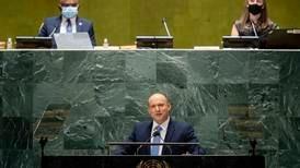 UNGA 2021: Israeli PM attacks Iranian drone terror swarms