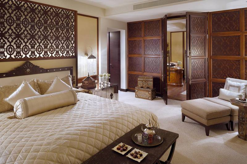 A handout photo of The Palace Downtown Dubai Imperial Suite (Courtesy: The Address Hotels + Resorts) *** Local Caption ***  al00-opulent-downtown.jpg