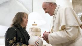 Pope Francis and Grand Imam of Al Azhar sign Special Olympics ball
