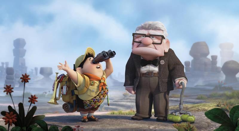 Up. Pixar / Disney