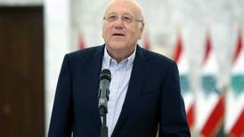 Lebanon's Mikati pushes for Cabinet formation