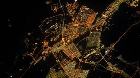 French astronaut shares picture of Abu Dhabi at night from space