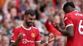 Manchester United v Leeds player ratings: Pogba 9, Fernandes 9; Ayling 6, Raphinha 3