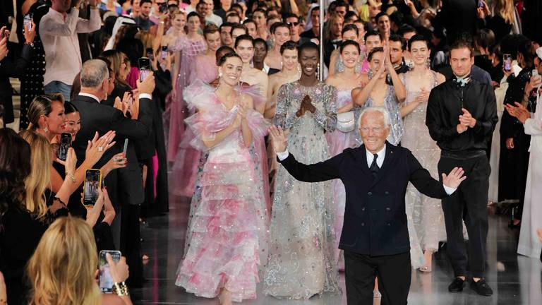 An image that illustrates this article Giorgio Armani's 'One Night Only' show dazzles crowd in Dubai