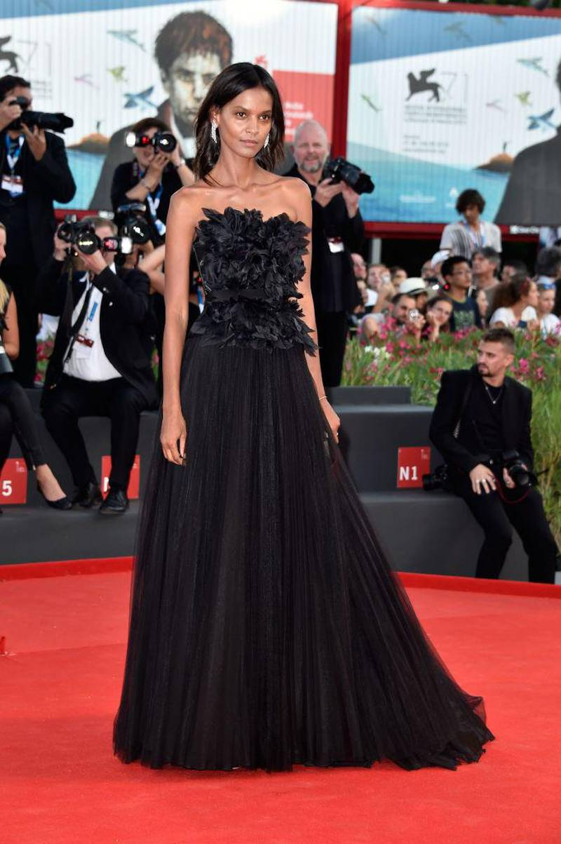 VENICE, ITALY - AUGUST 27:  Liya Kebede attends the Opening Ceremony and 'Birdman' premiere during the 71st Venice Film Festival on August 27, 2014 in Venice, Italy.  (Photo by Pascal Le Segretain/Getty Images)